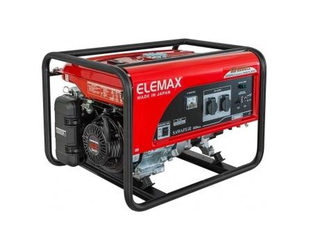 Бензиновый генератор (Бензогенератор) ELEMAX SH4600EX-R