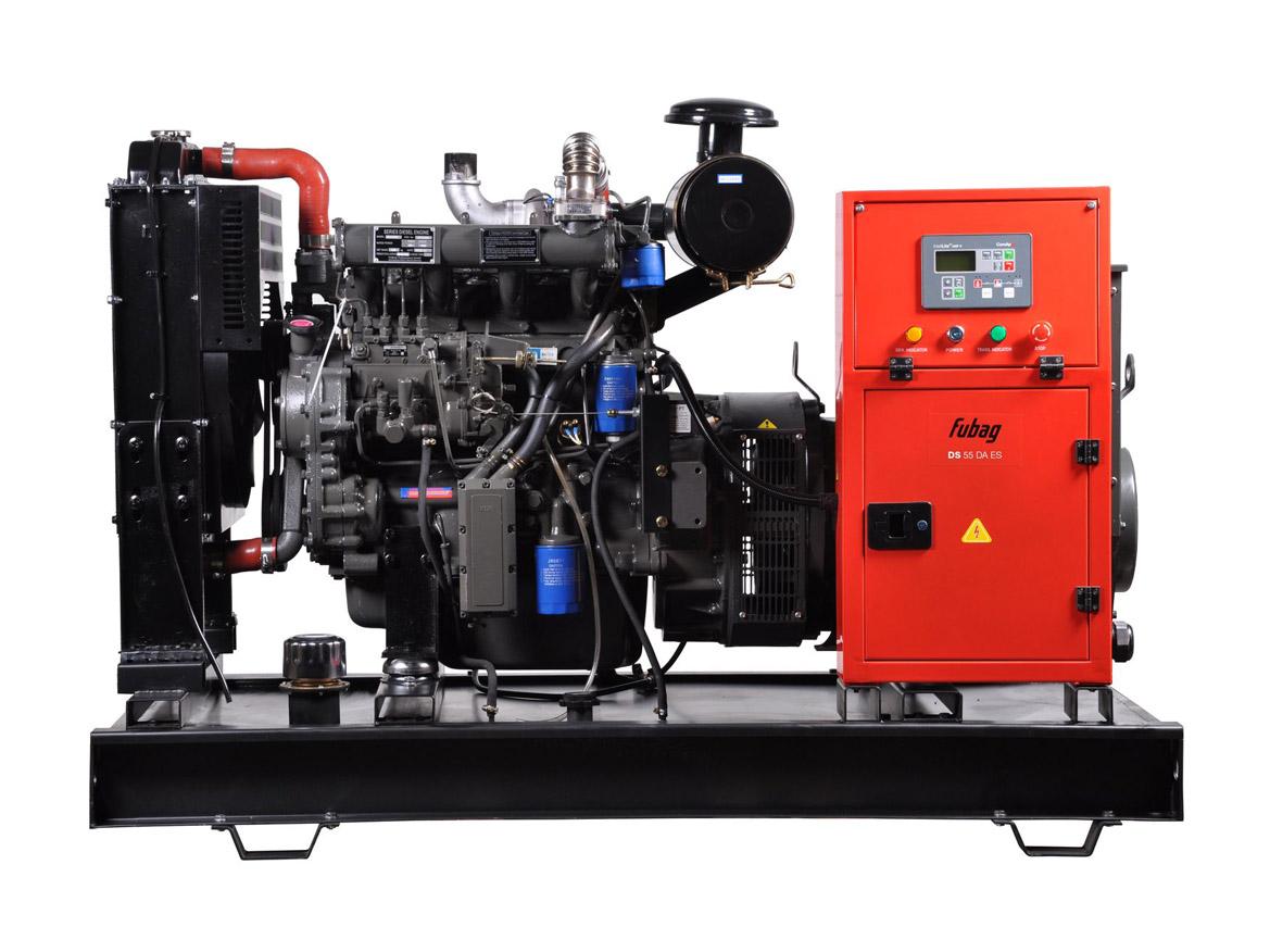 Дизельный генератор (электростанция) FUBAG DS 55 DA ES