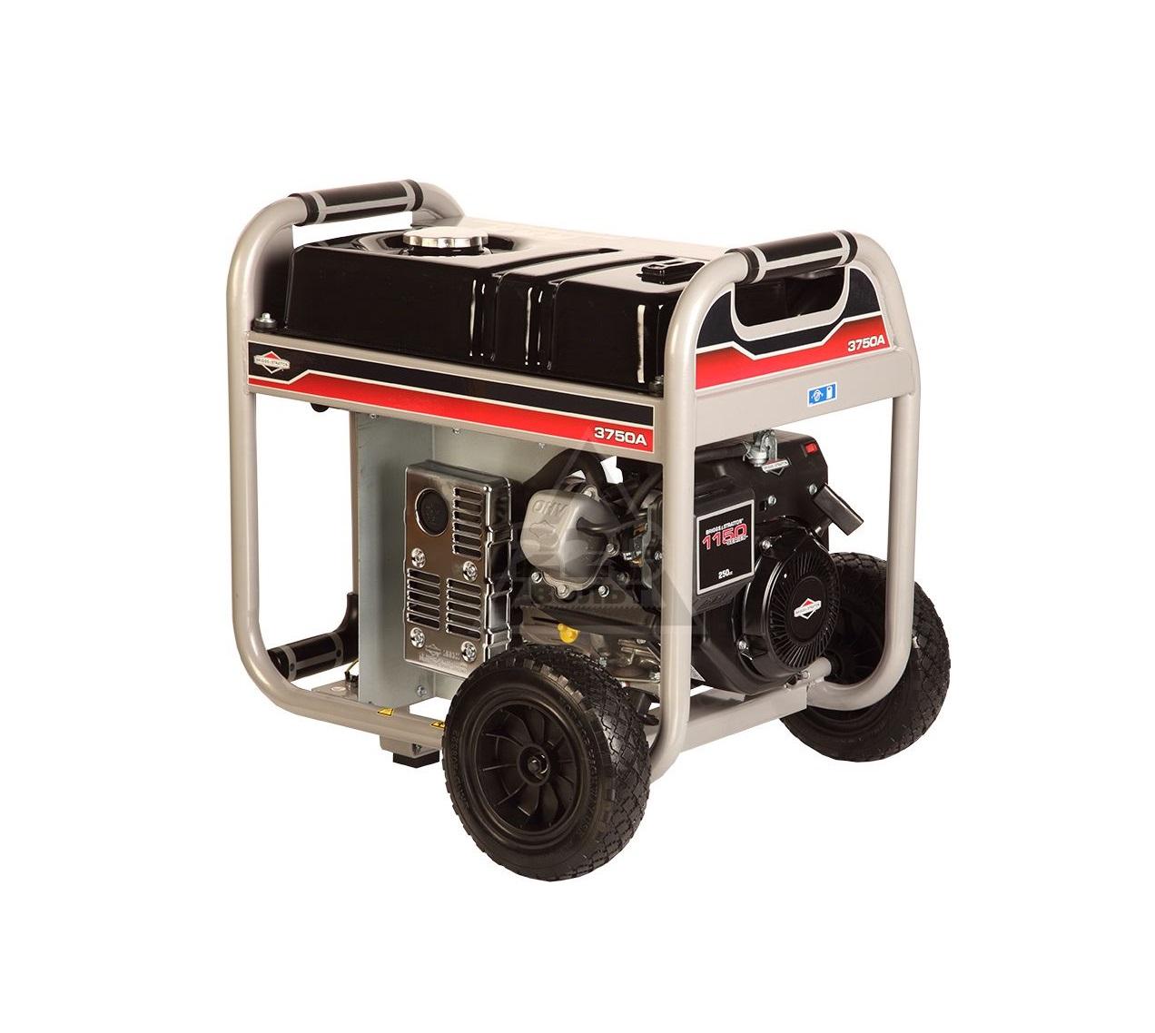 Бензиновый генератор (Бензогенератор) Briggs&Stratton 3750 A