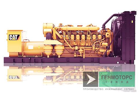 Дизельный генератор (электростанция) Caterpillar 3516B 1820 кВт