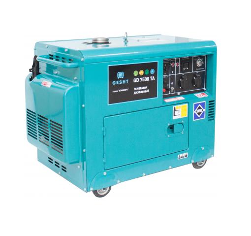 Дизельный генератор (электростанция) Gesht GD7500TA