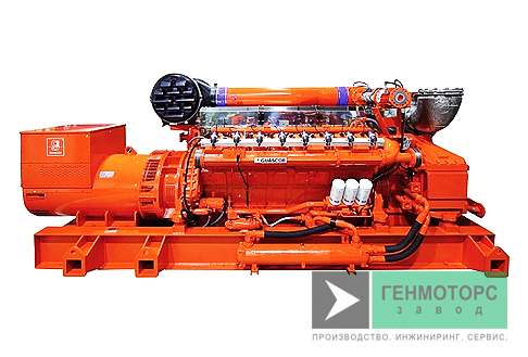 Газопоршневая электростанция (ГПУ) Guascor FGLD360