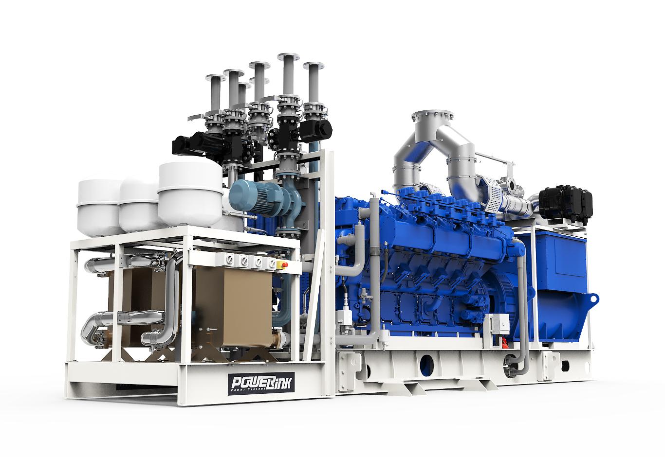 Газопоршневая электростанция (ГПУ) PowerLink TCG1560-NG