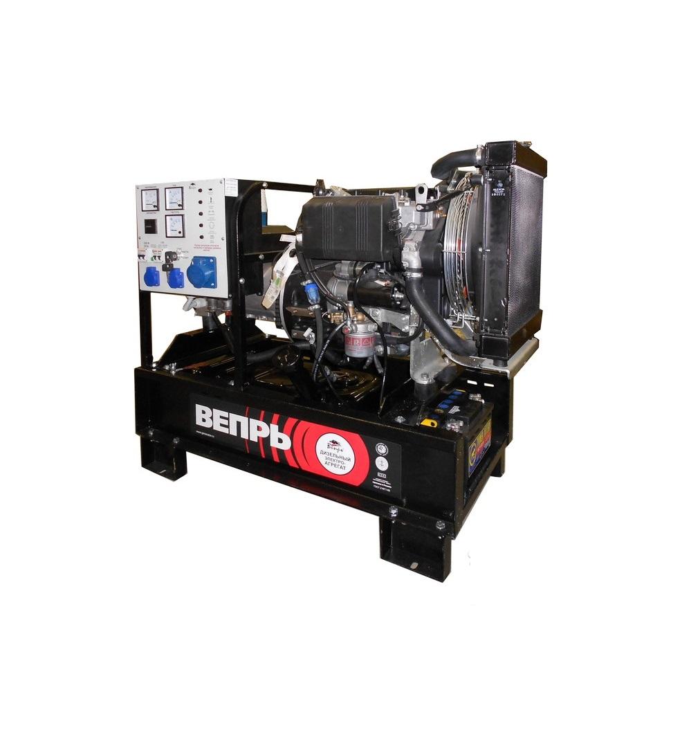 Дизельный генератор (электростанция) ВЕПРЬ АДА 8-230 РЛ2
