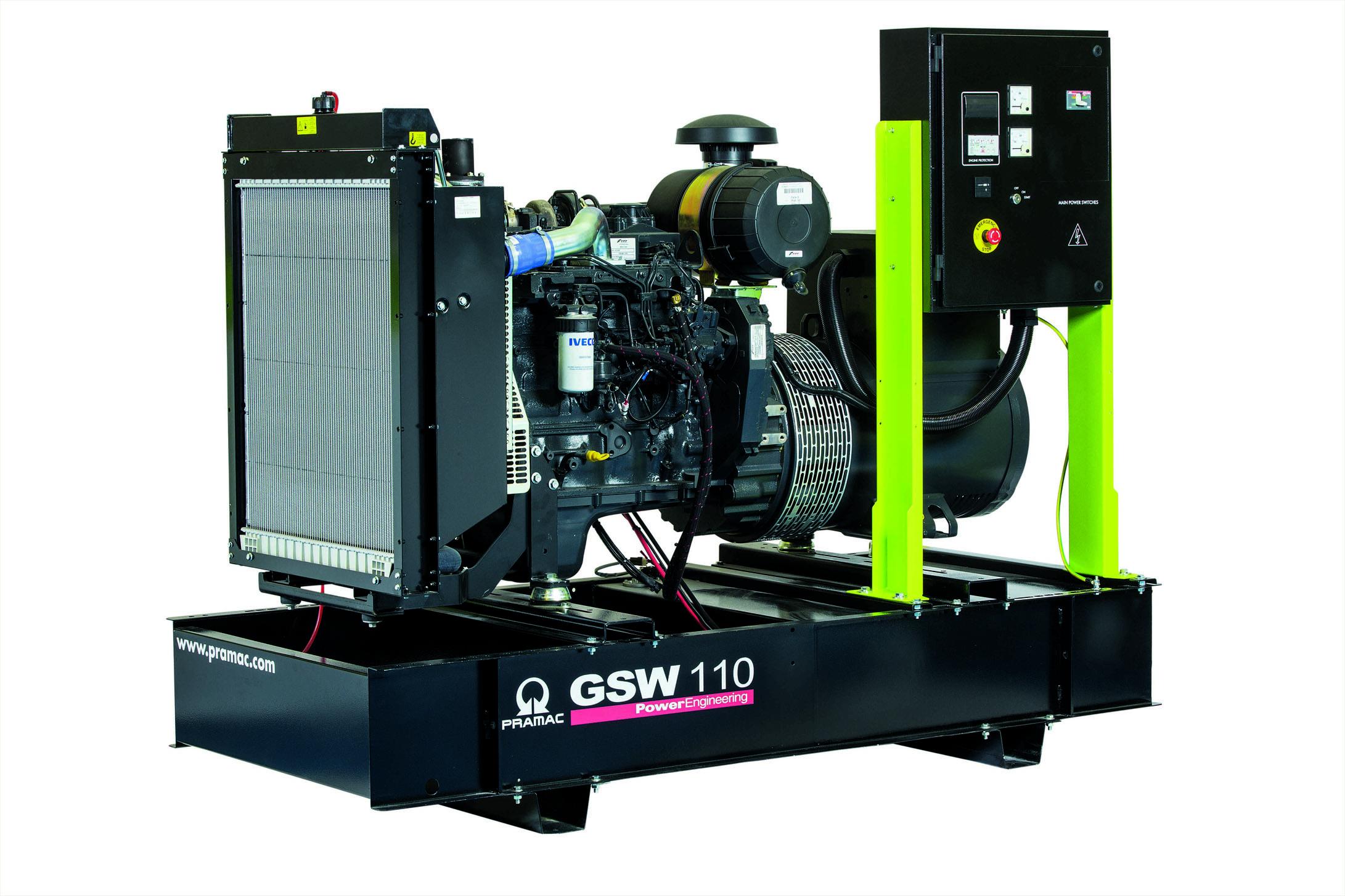 Дизельный генератор (электростанция) Pramac GSW110I