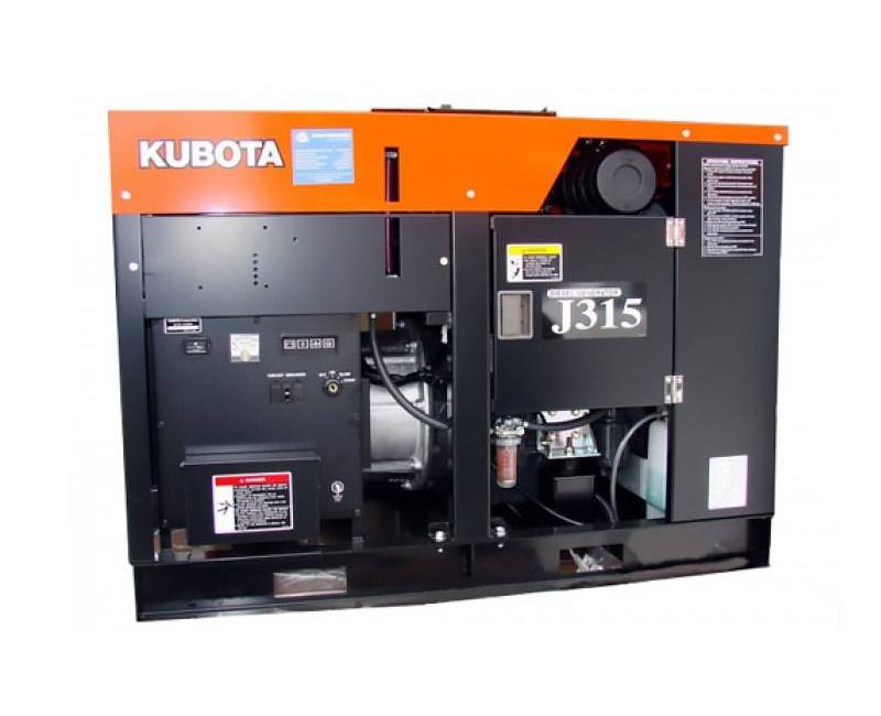 Дизельный генератор (электростанция) Kubota J315