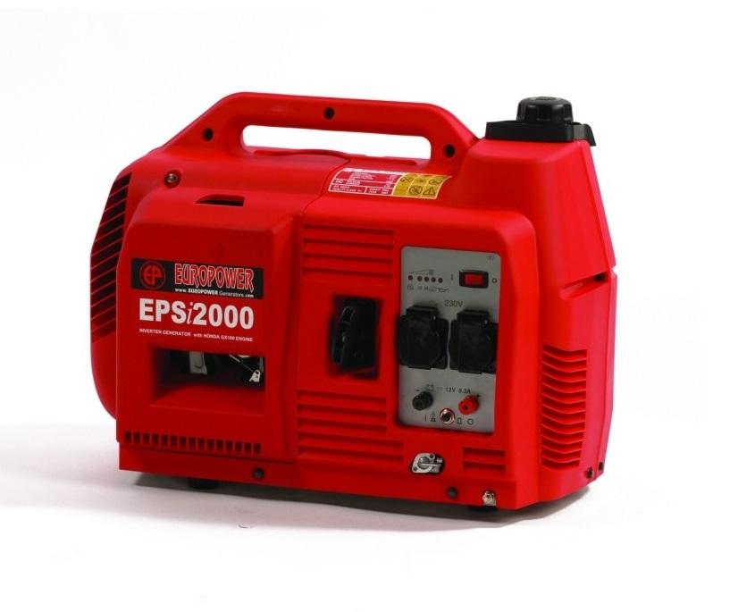 Бензиновый генератор (Бензогенератор) Europower EPSi 2000
