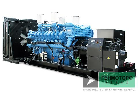 Дизельный генератор (электростанция) Gesan DTA 1200E