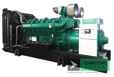 Дизельный генератор (электростанция) АД-1500C-Т400