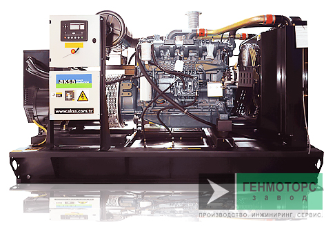 Дизельный генератор (электростанция) AKSA AD132