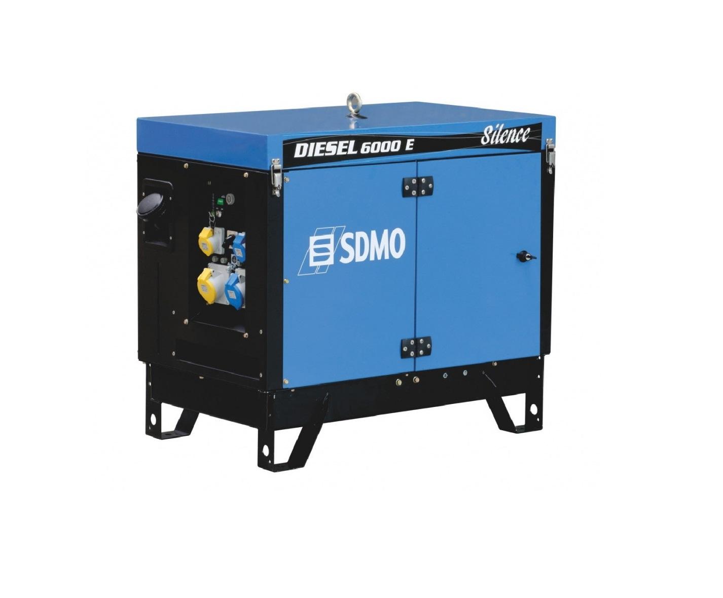 Дизельный генератор (электростанция) SDMO DIESEL 6000 E SILENCE