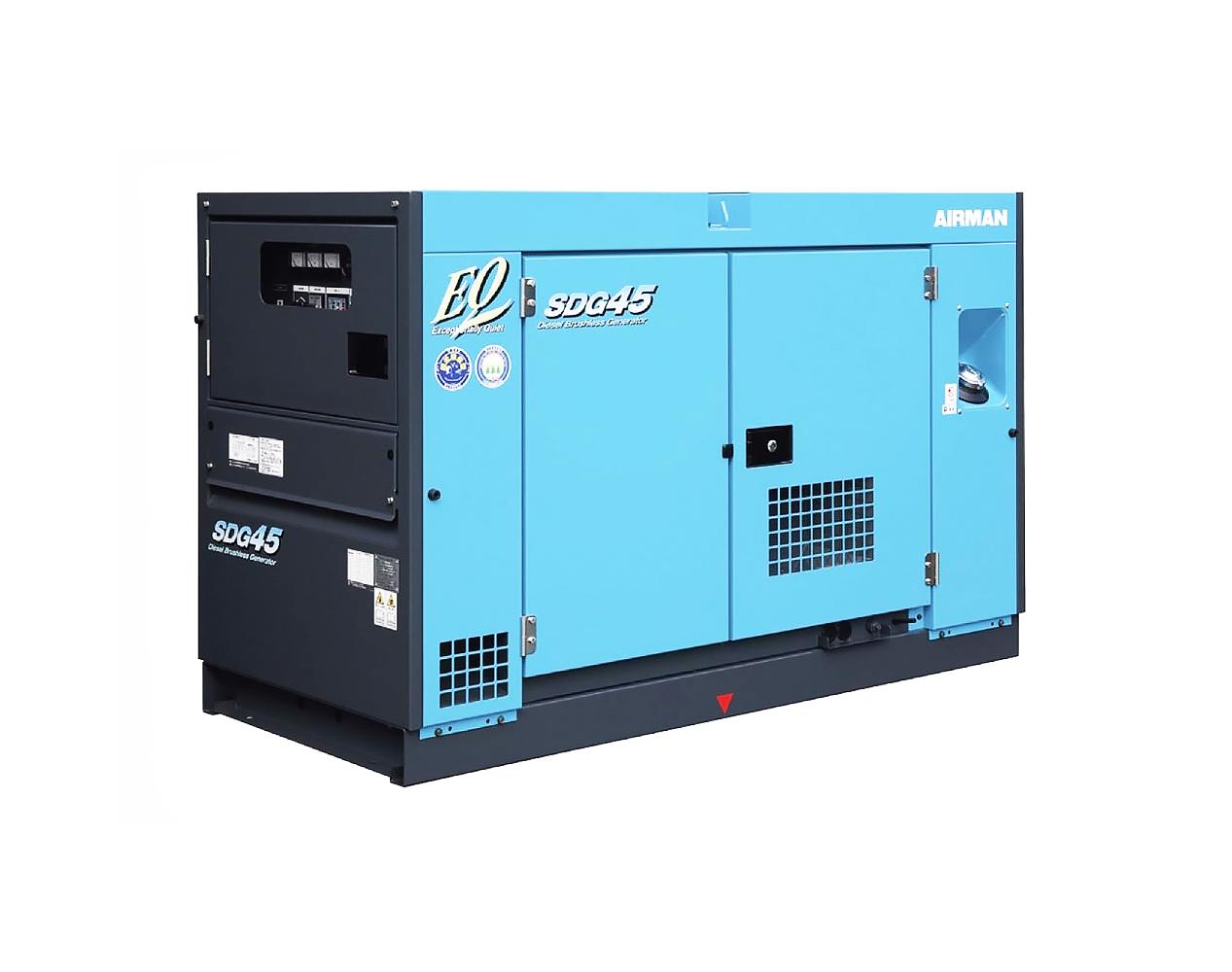 Дизельный генератор (электростанция) AIRMAN SDG45S