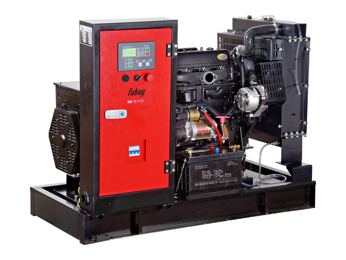 Дизельный генератор (электростанция) FUBAG DS 16 A ES