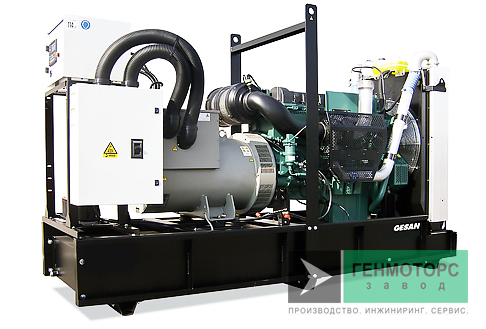 Дизельный генератор (электростанция) Gesan DVA 360E