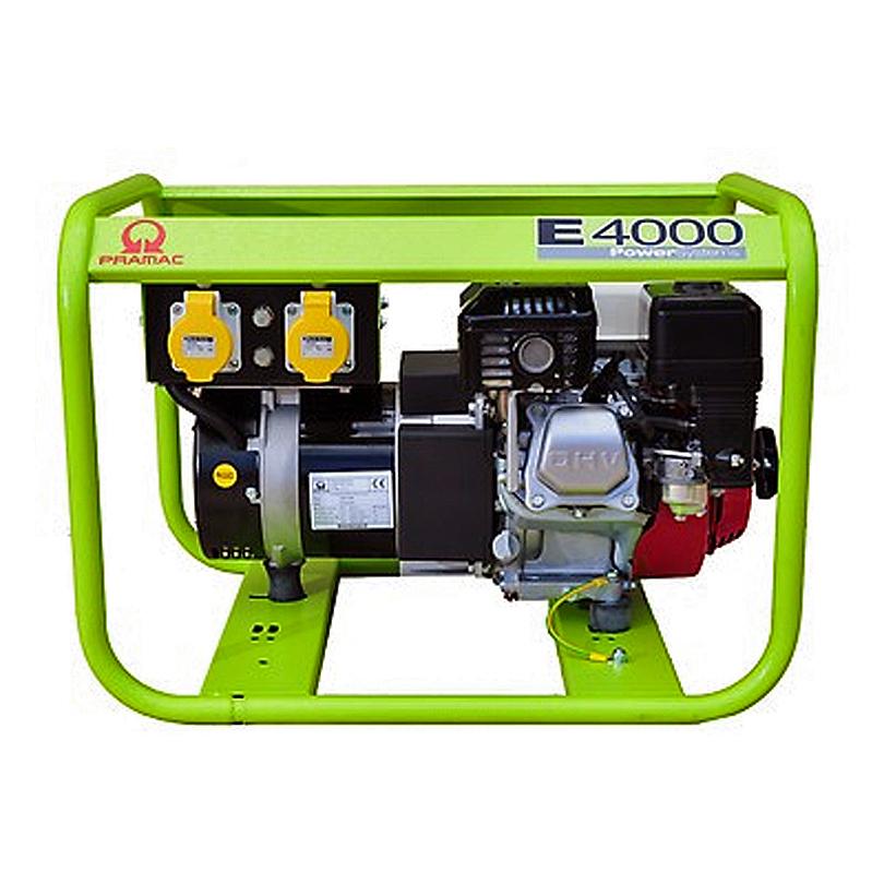 Бензиновый генератор (Бензогенератор) Pramac E4000, 230V, 50Hz
