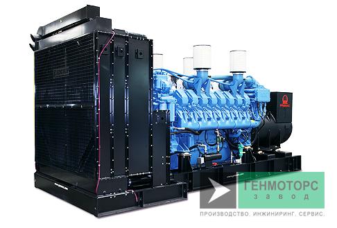Дизельный генератор (электростанция) Pramac GSW730M