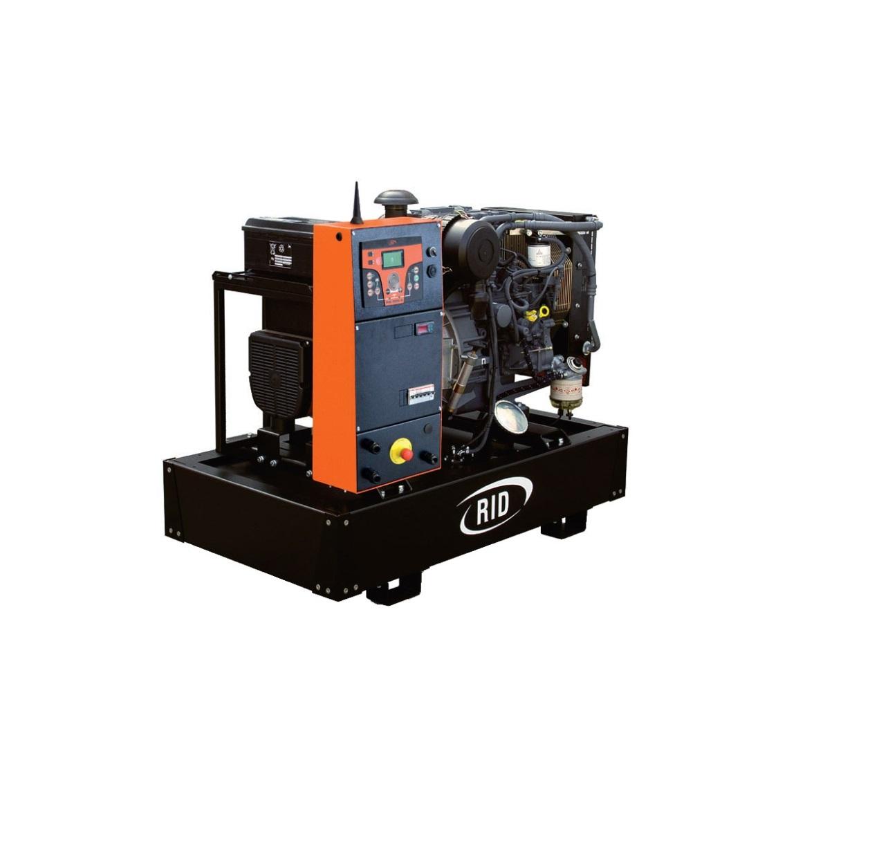 Дизельный генератор (электростанция) RID 15 E-SERIES