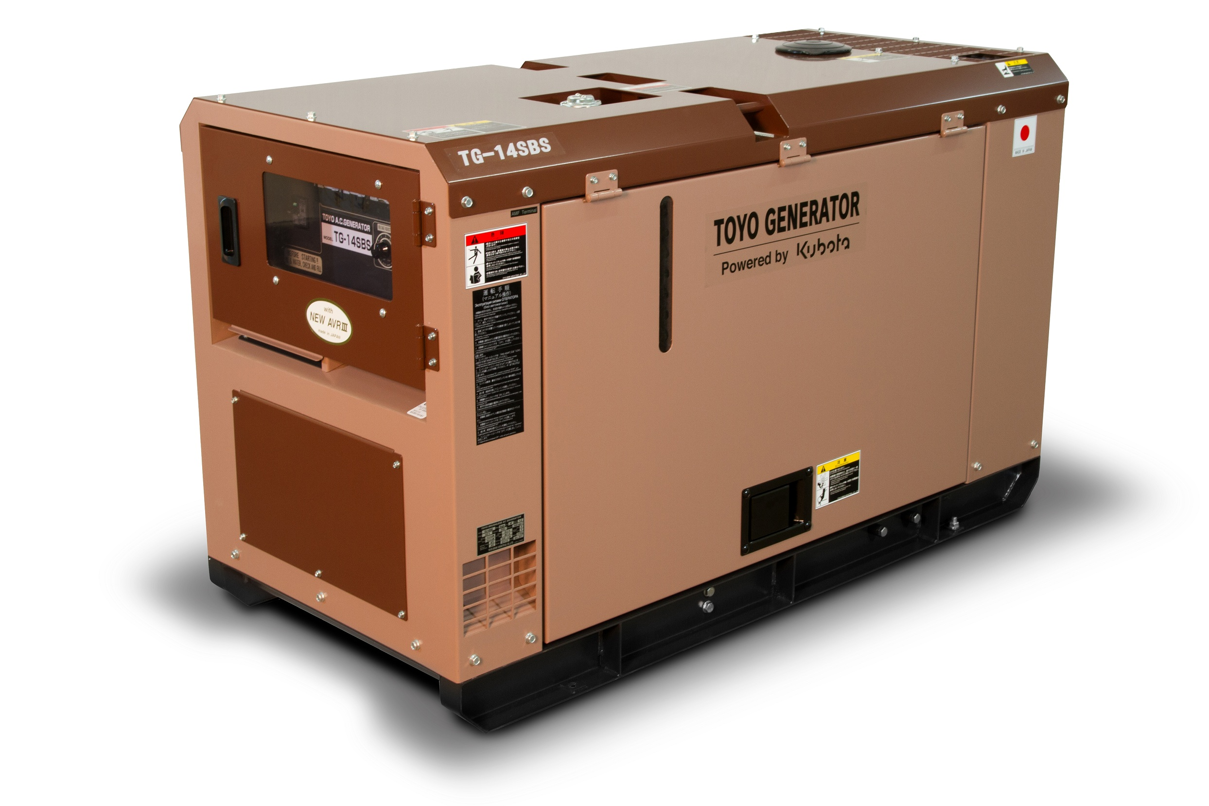 Дизельный генератор (электростанция) TOYO TG-14SBS