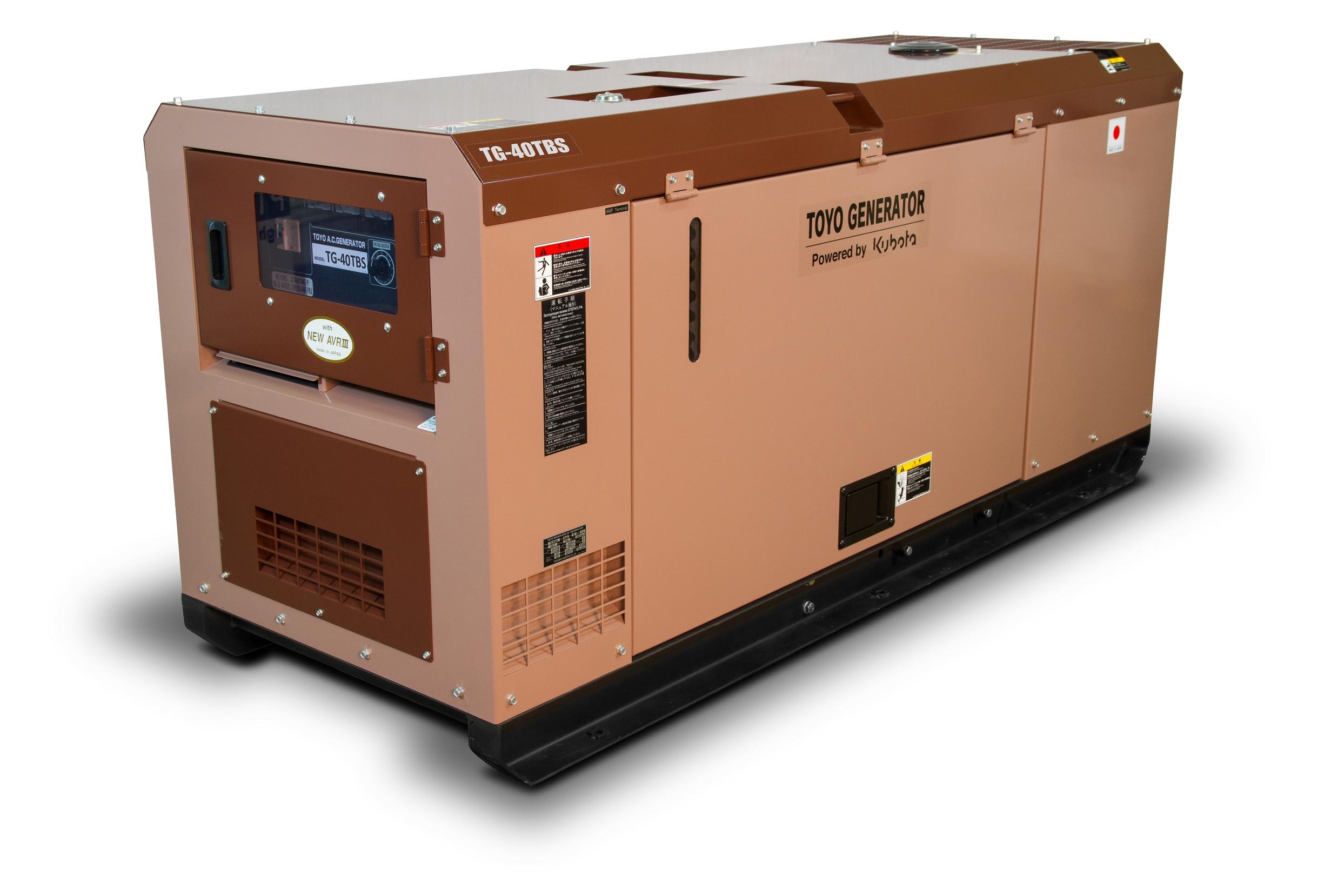 Дизельный генератор (электростанция) TOYO TG-40TBS