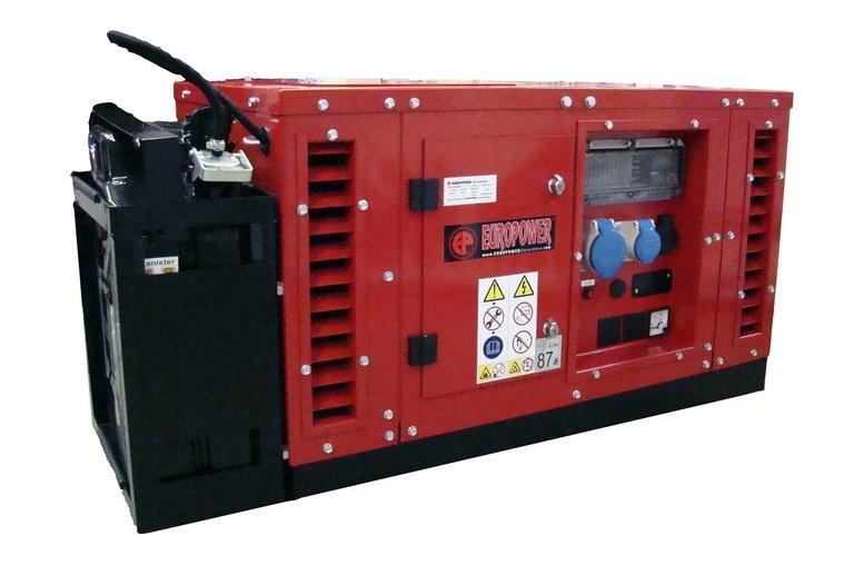Бензиновый генератор (Бензогенератор) Europower EPS 10000 E