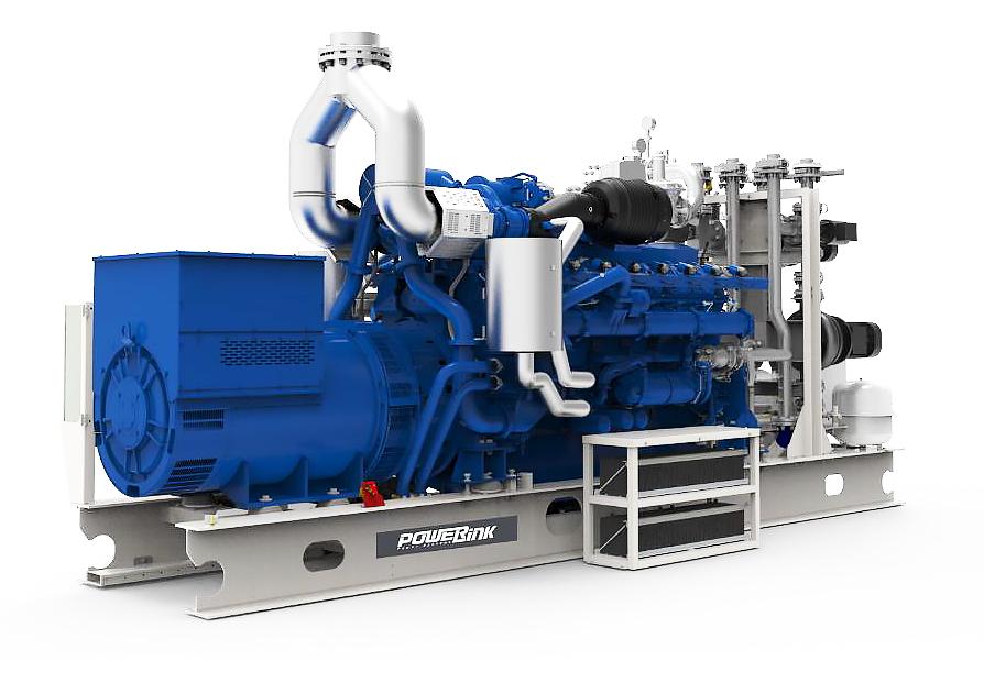 Газопоршневая электростанция (ГПУ) PowerLink CG150-NG