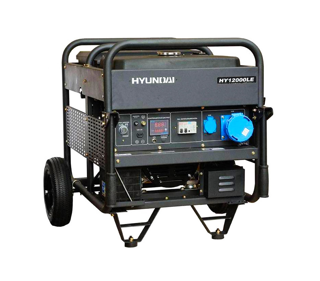 Бензиновый генератор (Бензогенератор) HYUNDAI HY 12000LE