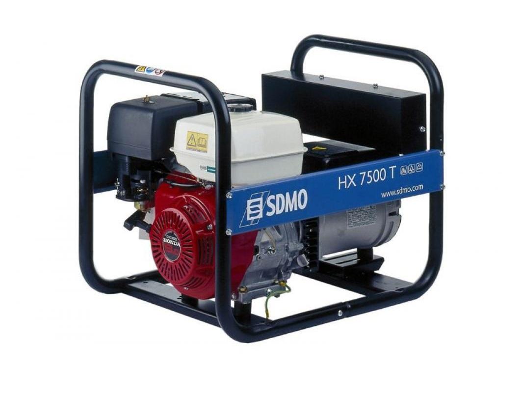 Бензиновый генератор (Бензогенератор)  SDMO HX 7500 T-C
