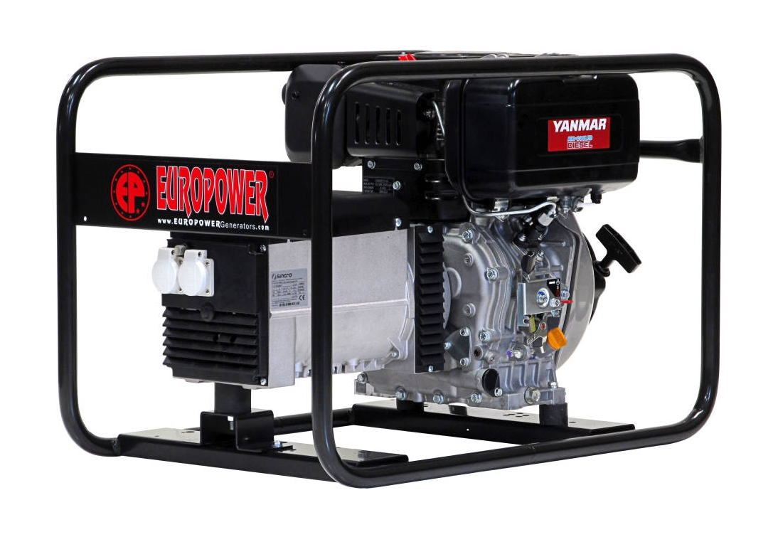 Дизельный генератор (электростанция) Europower EP 6000 D