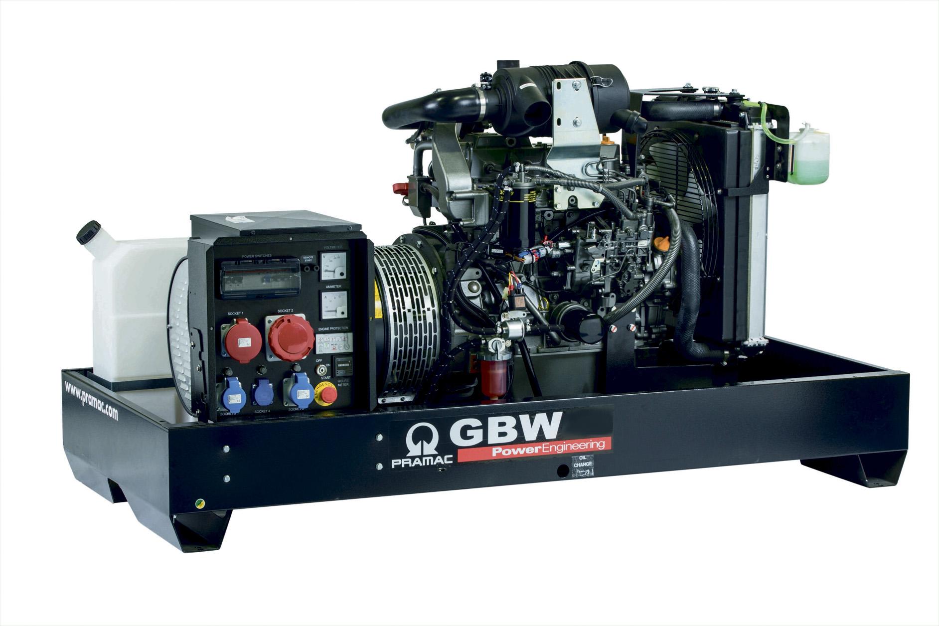 Дизельный генератор (электростанция) Pramac GBW15P