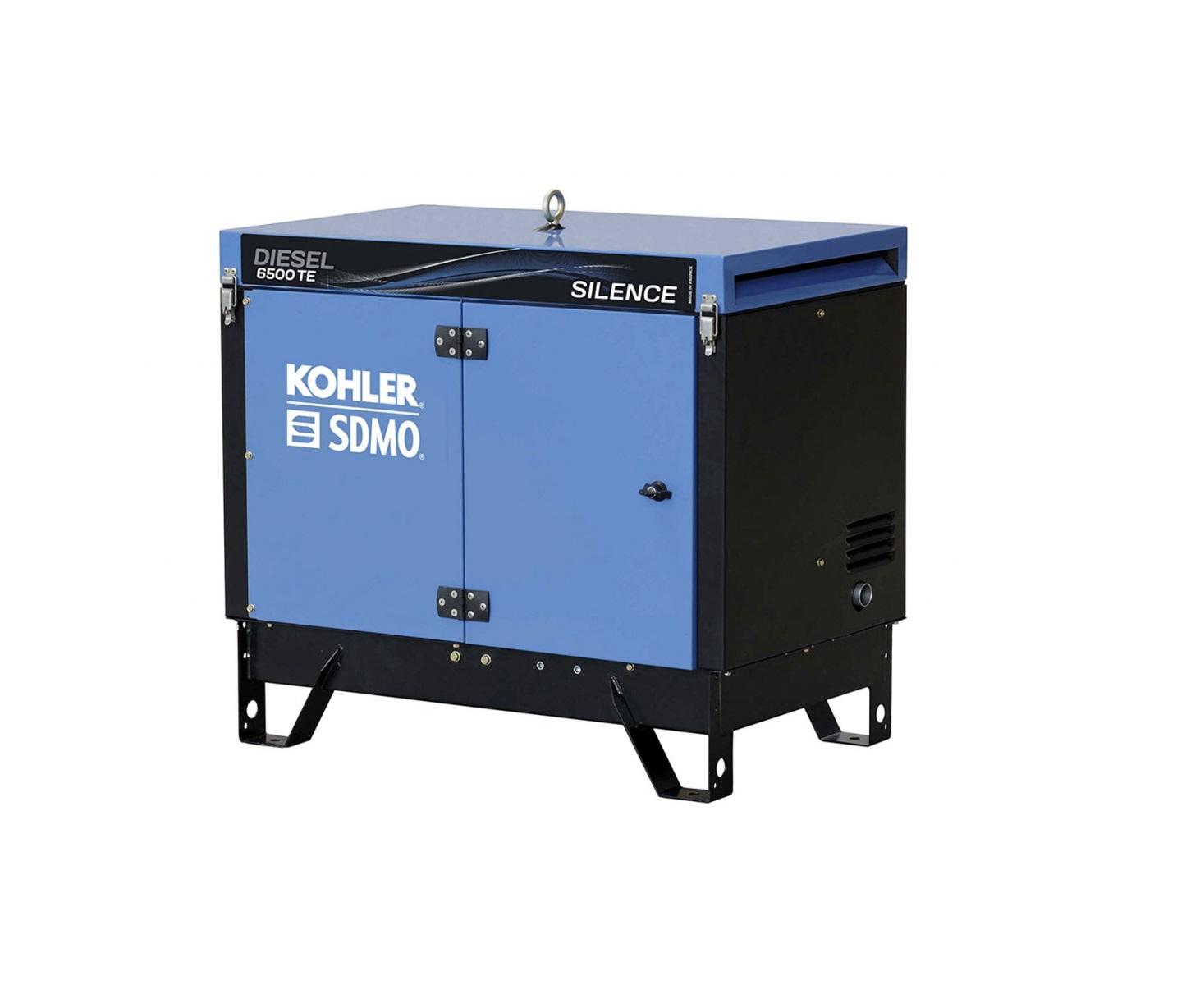 Дизельный генератор (электростанция) SDMO DIESEL 6500 TE SILENCE