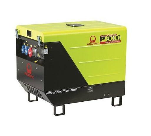 Дизельный генератор (электростанция) Pramac P9000, 230V, 50Hz #AVR #CONN #DPP