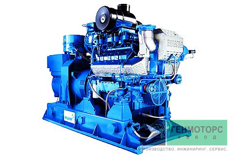 Газопоршневая электростанция (ГПУ) MWM TCG 2016 V8