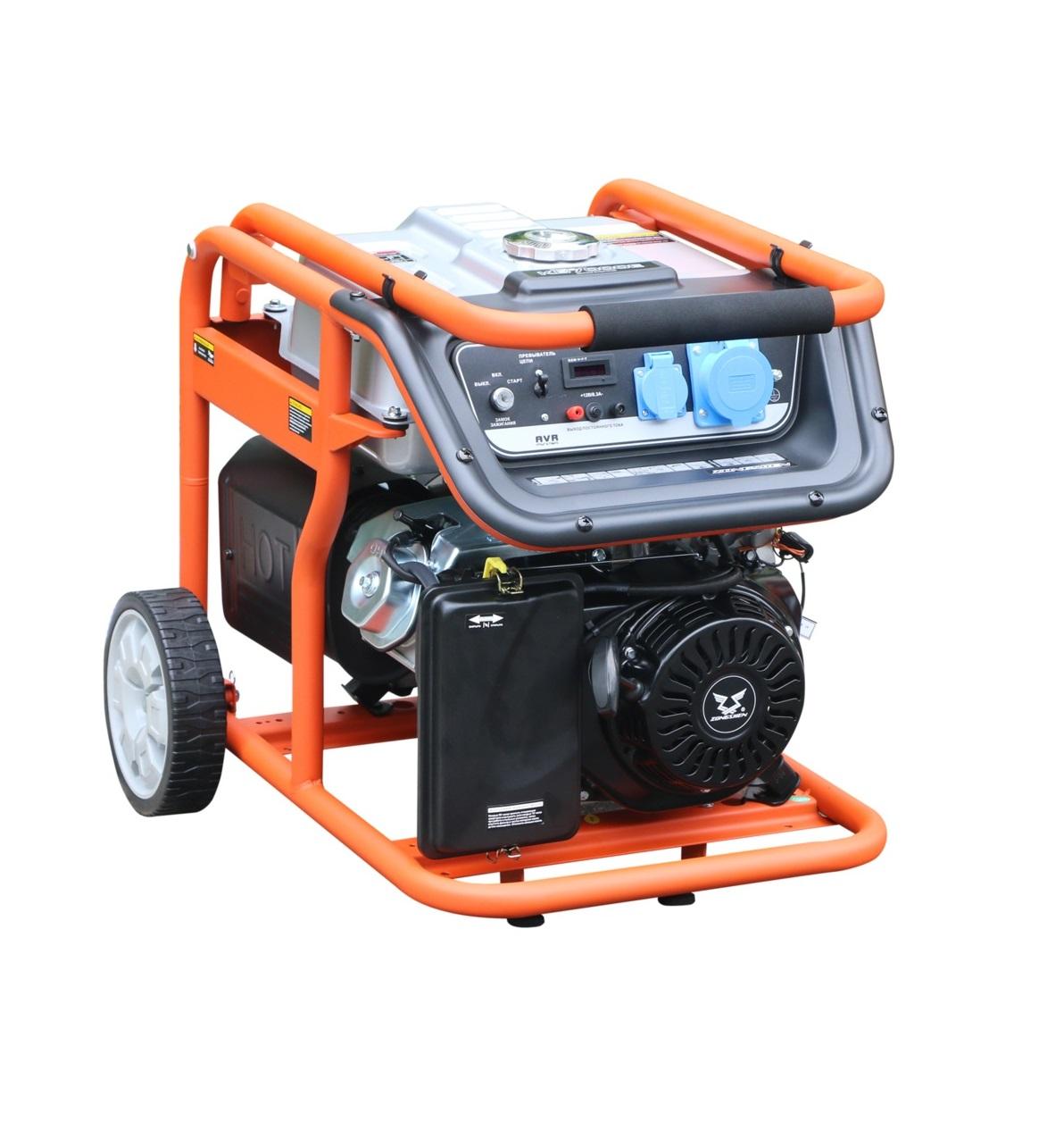 Бензиновый генератор (Бензогенератор) Zongshen KB 7000 E