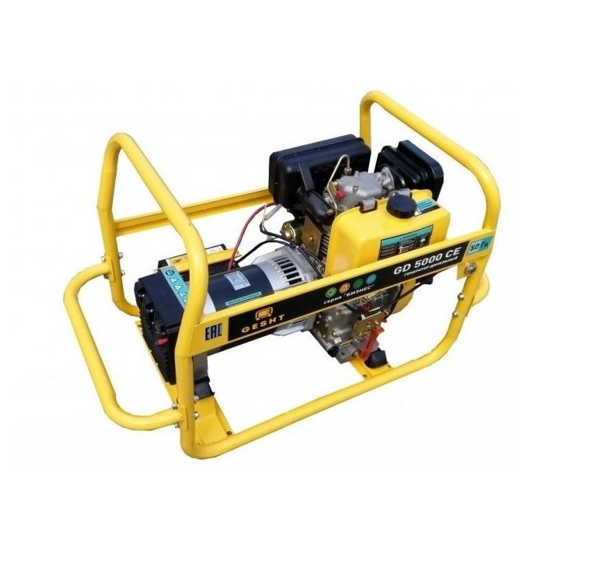Дизельный генератор (электростанция) Gesht GD5000СЕ