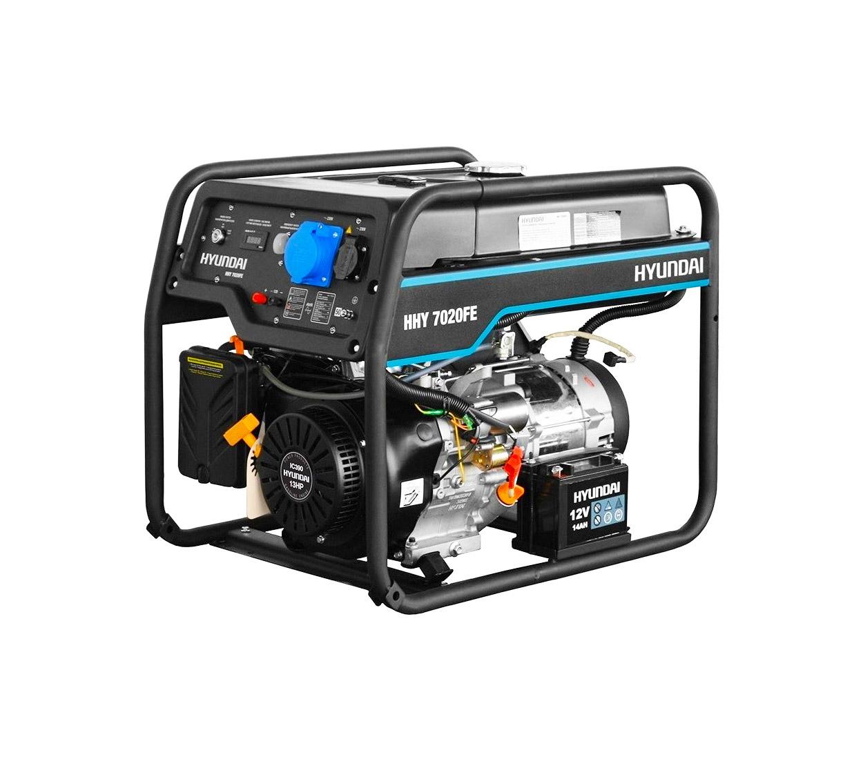 Бензиновый генератор (Бензогенератор) HYUNDAI HHY 7020FE