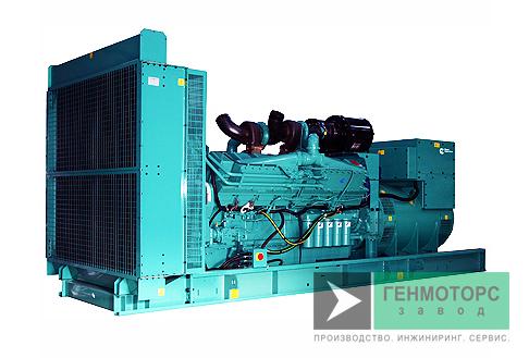 Дизельный генератор (электростанция) Cummins C1100D5