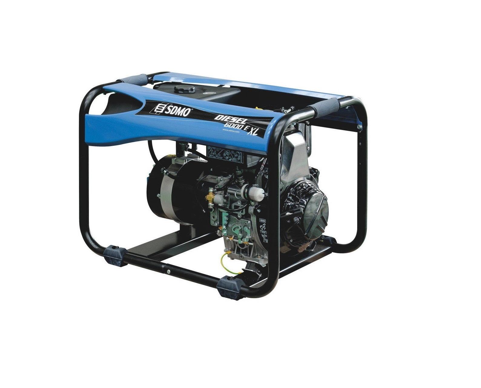 Дизельный генератор (электростанция) SDMO DIESEL 6000 E XL C