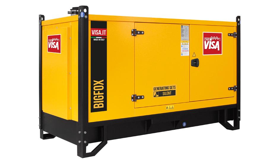 Дизельный генератор (электростанция) Onis Visa D62 BIG FOX