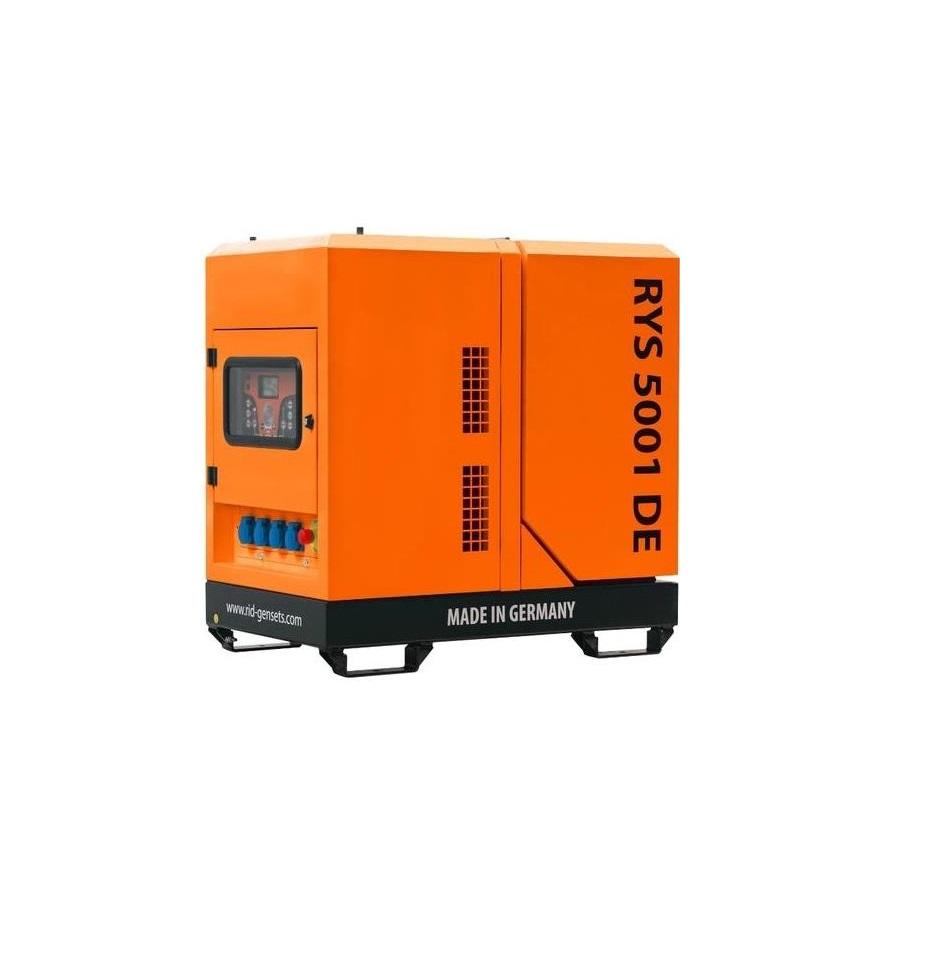 Дизельный генератор (электростанция) RID RYS 5001 DE