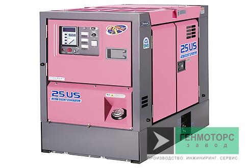 Дизельный генератор (электростанция) DENYO DCA-25USI2