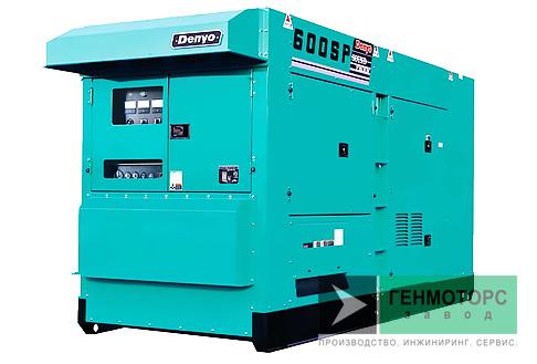 Дизельный генератор (электростанция) DENYO DCA-600SPK