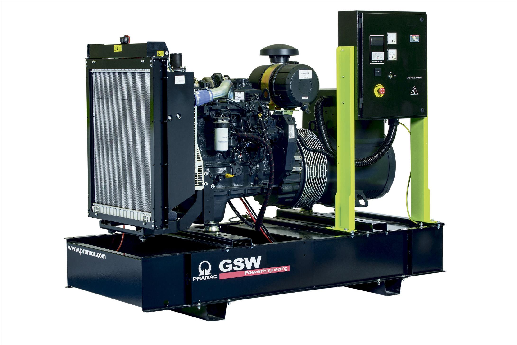 Дизельный генератор (электростанция) Pramac GSW110P