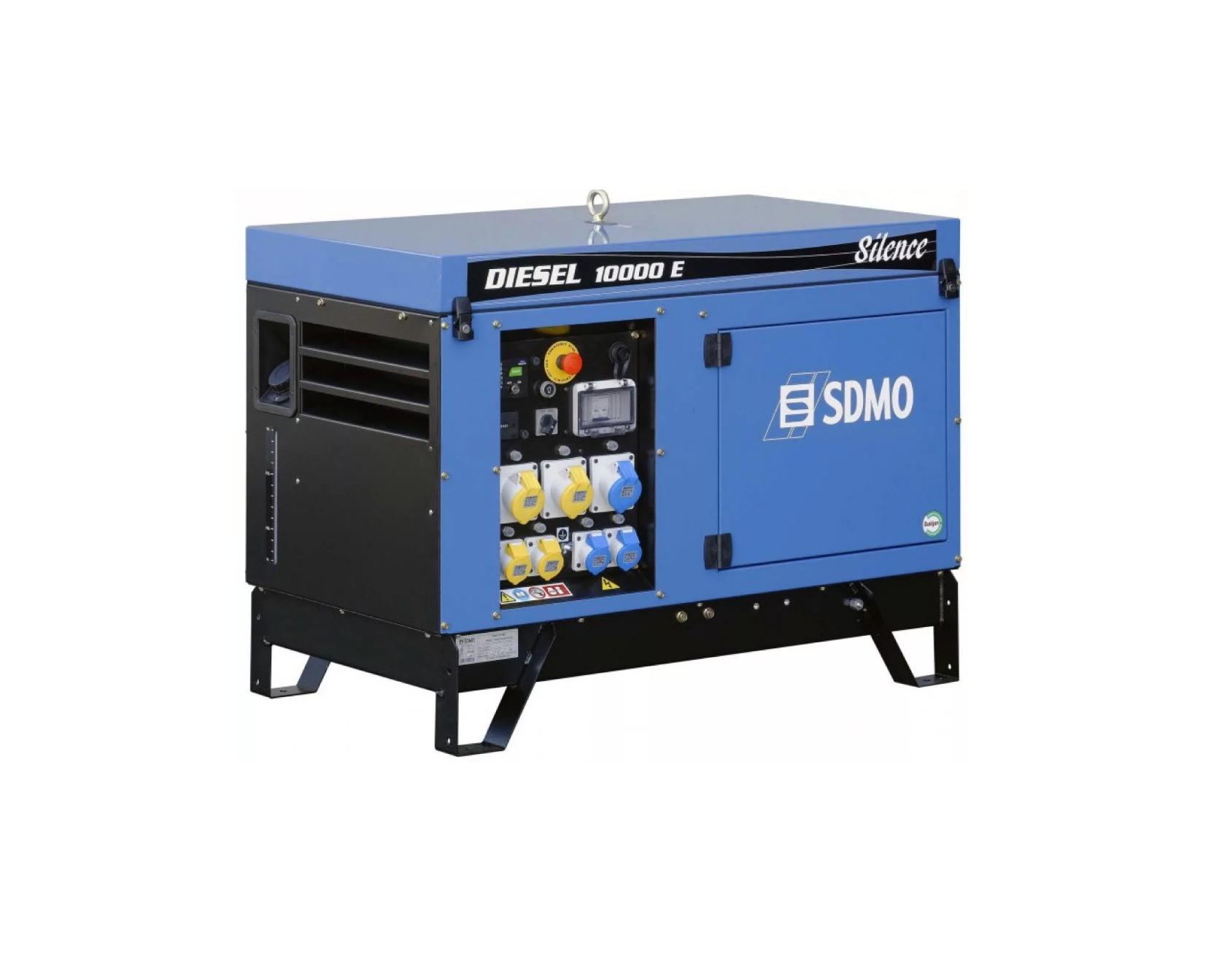 Дизельный генератор (электростанция) SDMO DIESEL 10000 E SILENCE