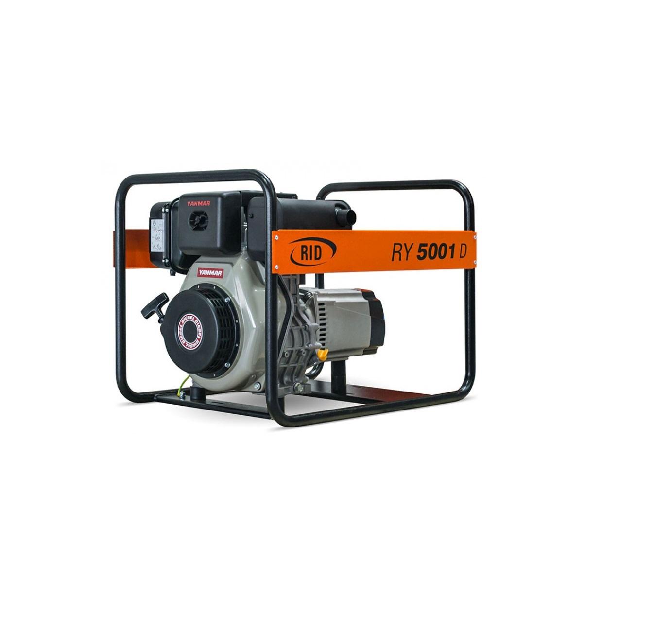 Дизельный генератор (электростанция) RID RY 5001 D