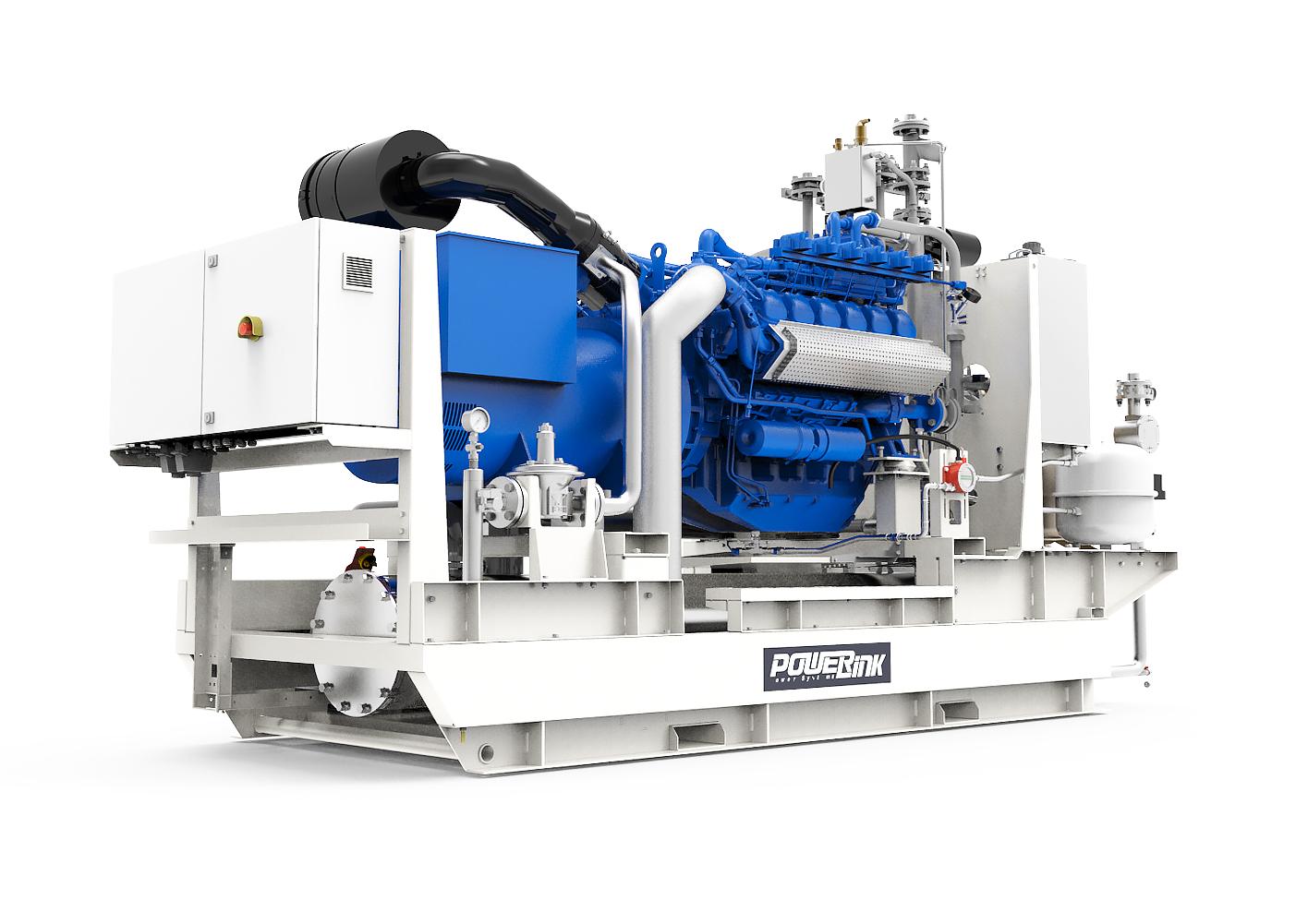 Газопоршневая электростанция (ГПУ) PowerLink CG520S-NG