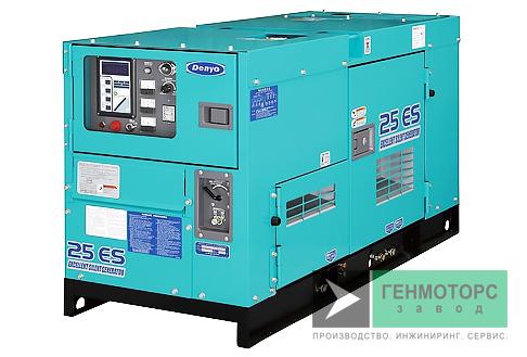 Дизельный генератор (электростанция) DENYO DCA-25ESI