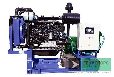 Дизельный генератор (электростанция) АД-100 ММЗ