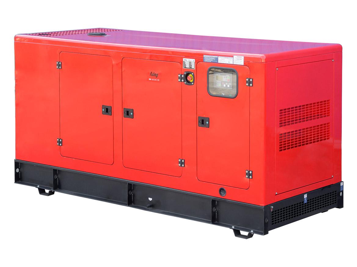 Дизельный генератор (электростанция) FUBAG DS 100 DAC ES