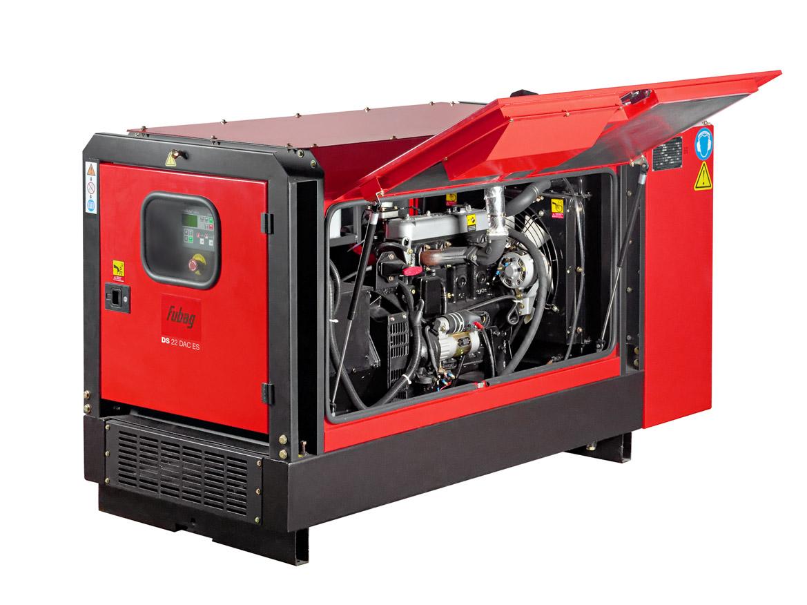 Дизельный генератор (электростанция) FUBAG DS 22 DAC ES