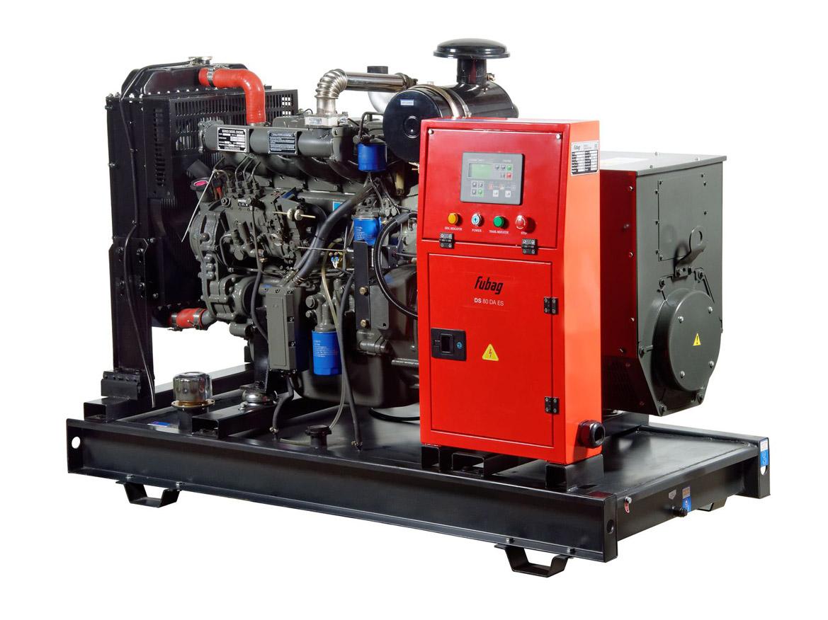 Дизельный генератор (электростанция) FUBAG DS 80 DA ES